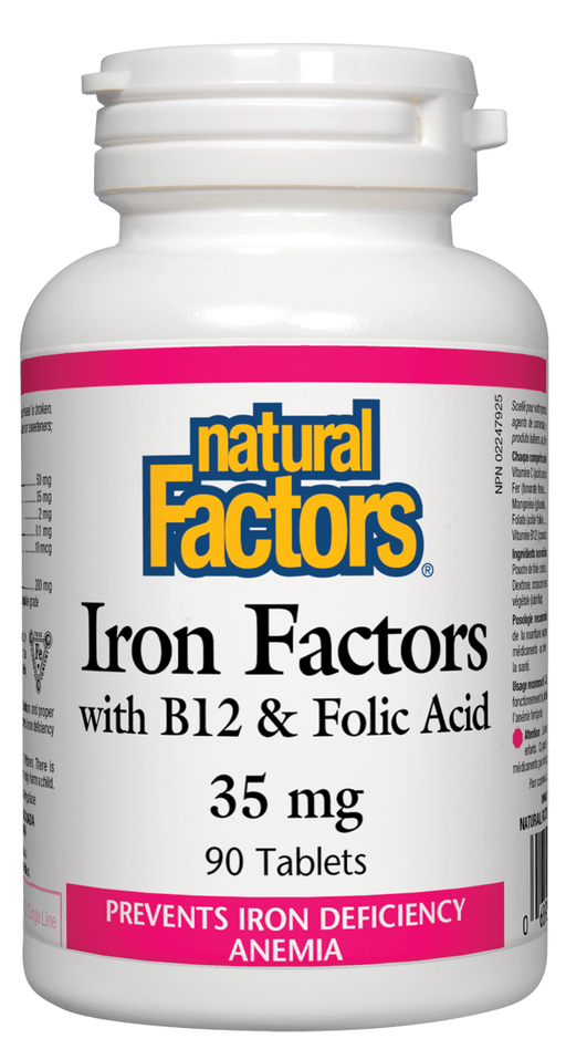Natural Factors Iron Factors | YourGoodHealth
