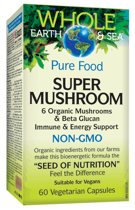 Whole Earth & Sea Super Mushroom | Your Good Health