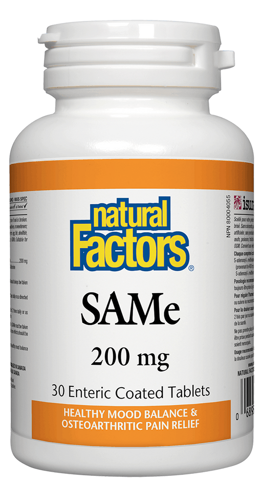 Natural Factors SAMe 200 mg | Your Good Health