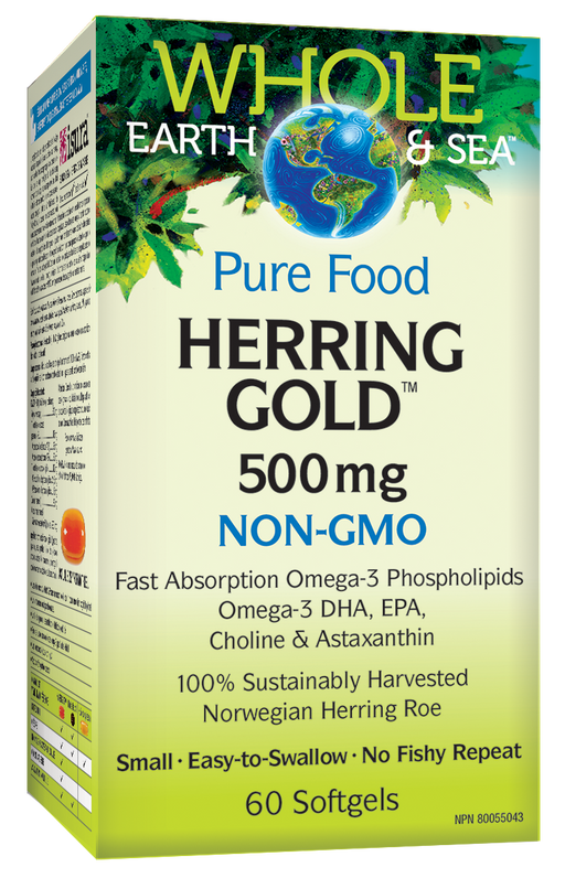Whole Earth & Sea Herring Gold | Your Good Health