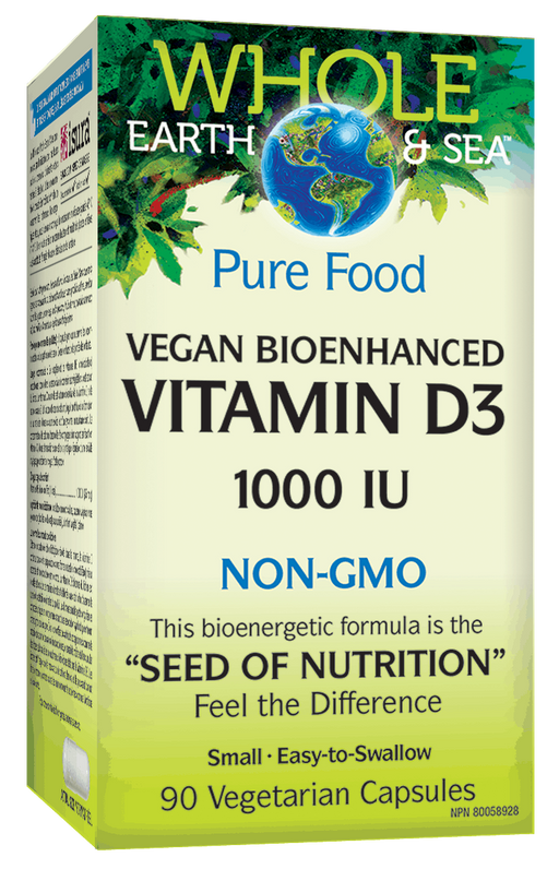Whole Earth & Sea Vegan Vitamin D3 | Your Good Health