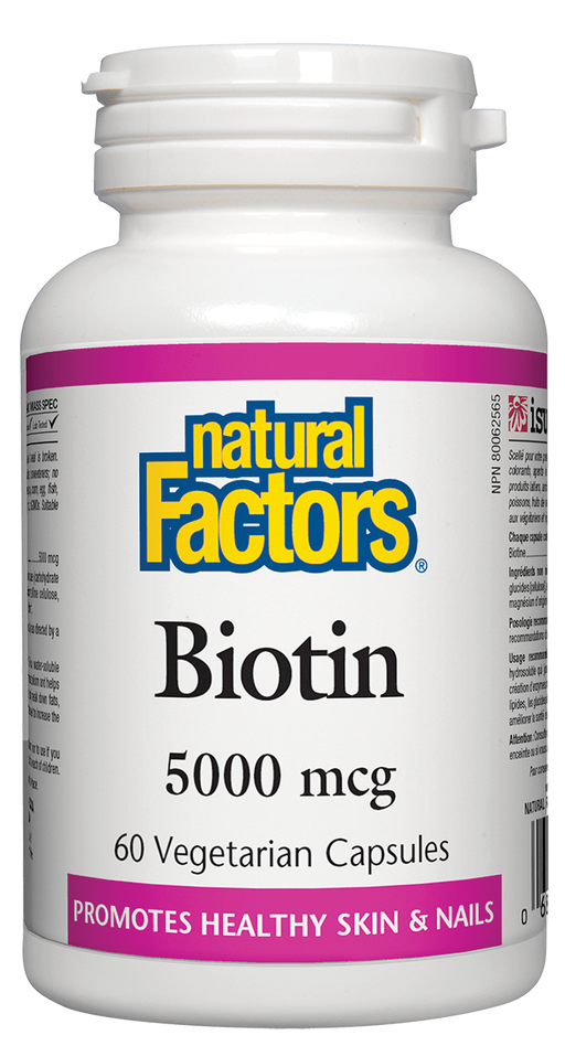 Natural Factors Biotin 5000mcg | YourGoodHealth