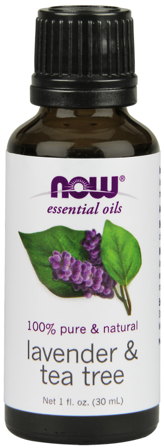 Now Lavender & Tea Tree Oil  30ml | Your Good Health