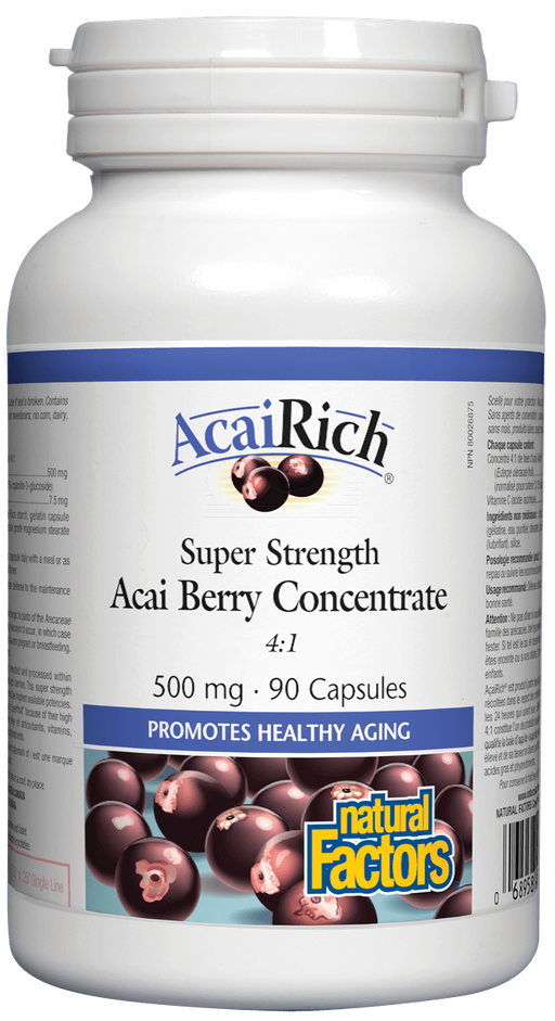 Natural Factors Acai Berry concentrate | YourGoodHealth