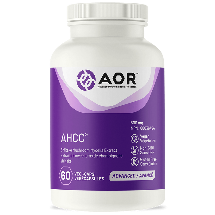 AOR AHCC 500mg 60capsules | YourGoodHealth