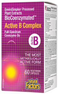 Natural Factors Active B Complex | Your Good Health