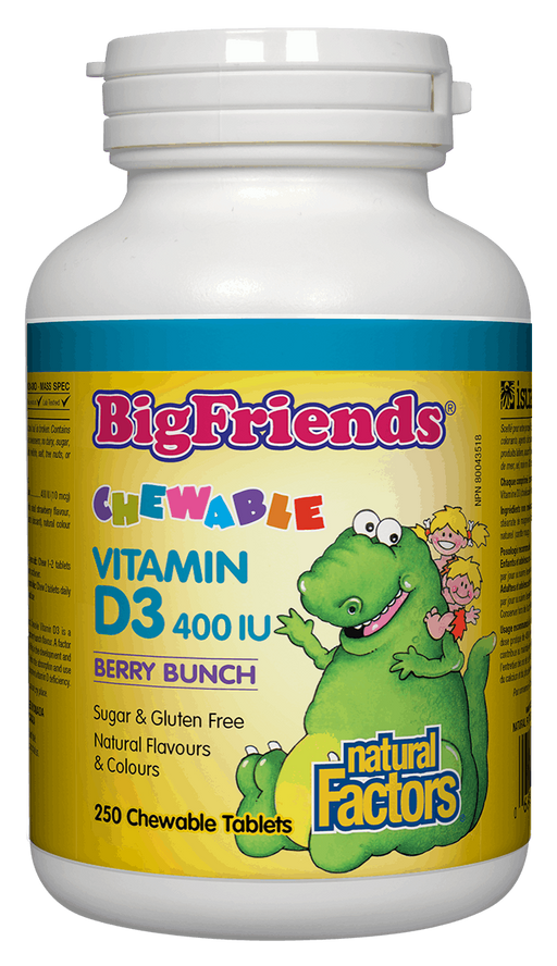 Natural Factors Kids Chewable Vitamin D3 | Your Good Health