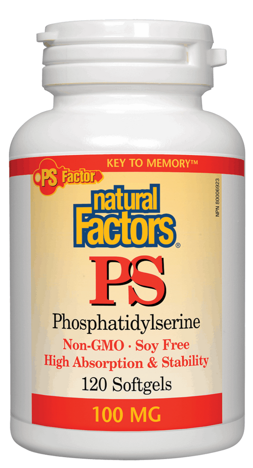 Natural Factors PS Phosphatidylserine | YourGoodHealth