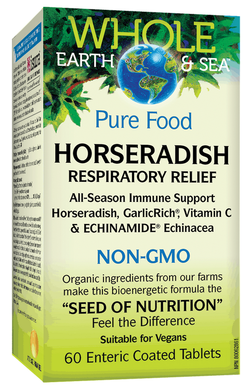 Whole Earth & Sea Horseradish | Your Good Health