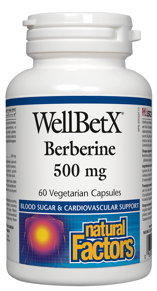 Natural Factors WellbetX Berberine | Your Good Health