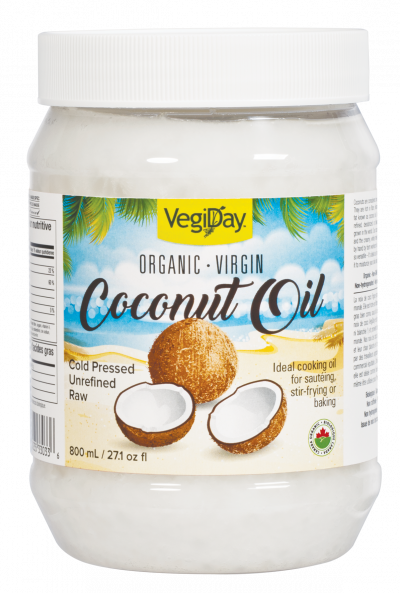Vegiday Organic Virgin Coconut Oil | Your Good Health