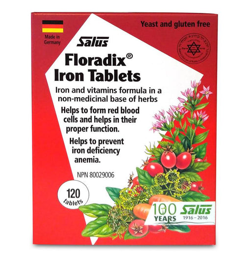 Salus Floradix Iron 120 Tablets | YourGoodHealth
