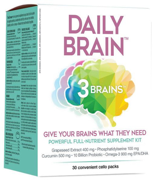 3 BRAINS Daily Brain | YourGoodHealth
