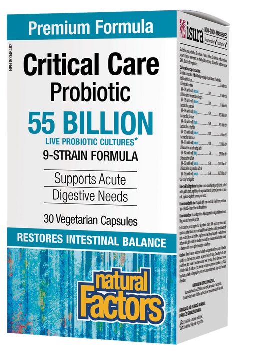 Natural Factors Critical Care Probiotic | YourGoodHealth