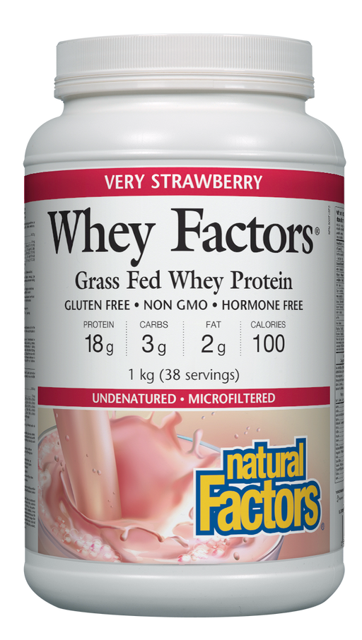 Whey Factors Protein Strawberry | YourGoodHealth