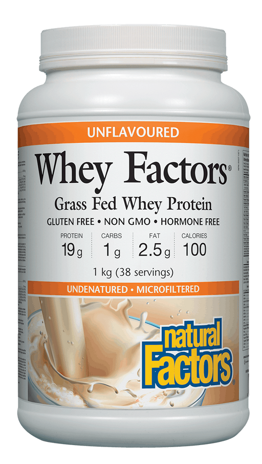 Whey FactorsWhey Protein Unflavoured | YourGoodHealth