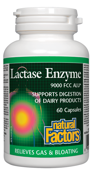 Natural Factors Lactase Enzyme | YourGoodHealth