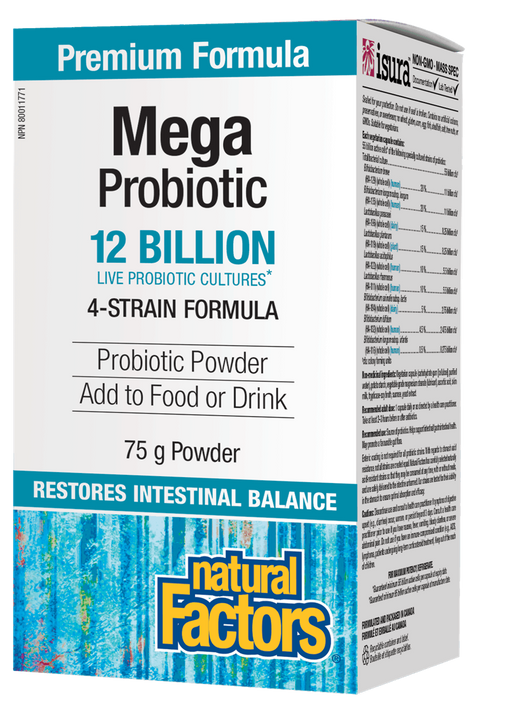 Natural Factors Mega Probiotic 12 Billion Active Cells