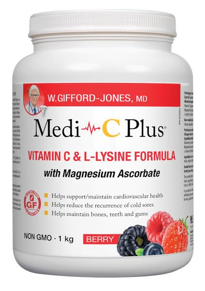 Medi-C Plus with Magnesium Berry 1kg | YourGoodHealth