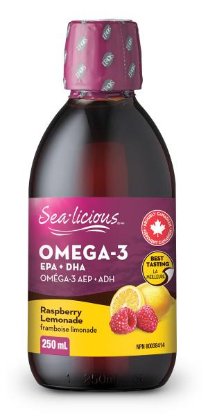 Sealicious Omega 3 Raspberry/Lemonade | YourGoodHealth