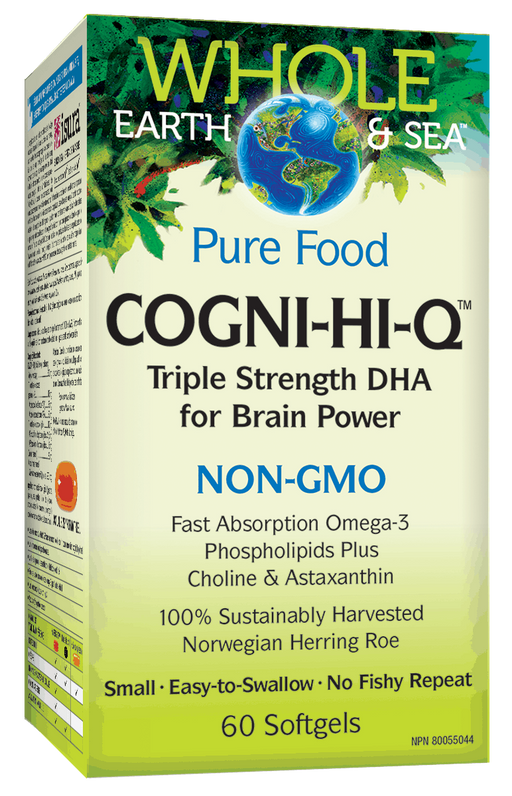 Whole Earth & Sea Cogni-Hi-Q | Your Good Health