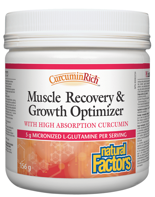 Natural Factors Muscle Recovery  | Your Good Health