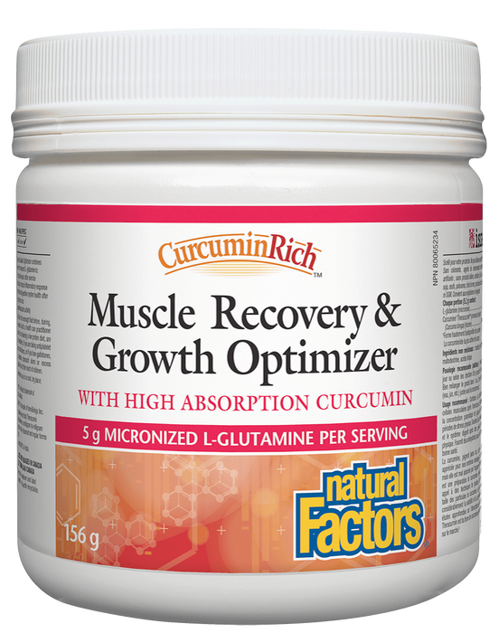Natural Factors Muscle Recovery 155g  | YourGoodHealth