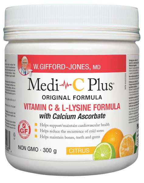 Gifford Jones Medi C Plus with Calcium 300g | YourGoodHealth