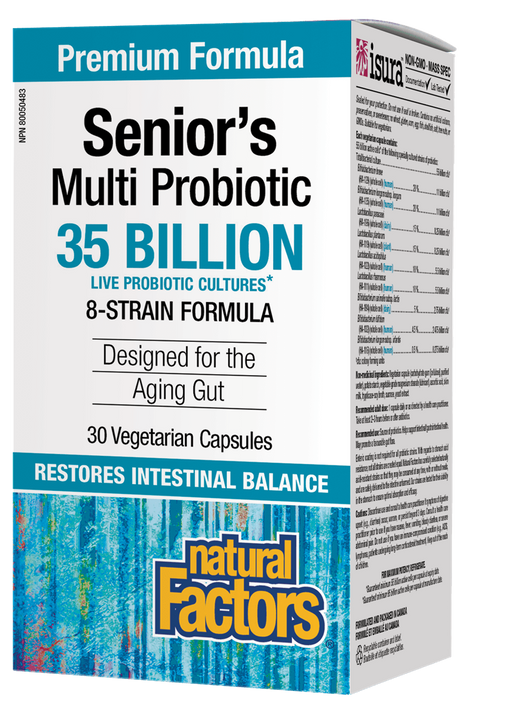 Natural Factors Senior's Multi Probiotic 35 Billion Active Cells