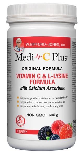 Medi C Plus with Calcium Berry 600gram | YourGoodHealth