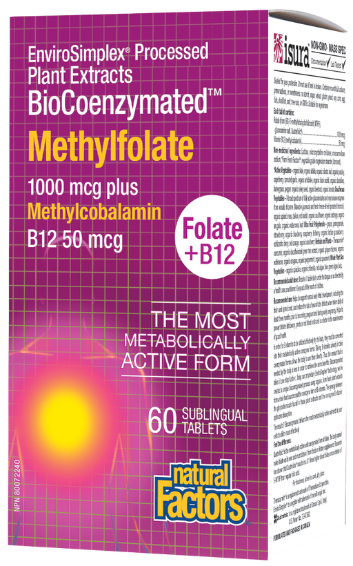 Natural Factors Methylfolate Plus | Your Good Health