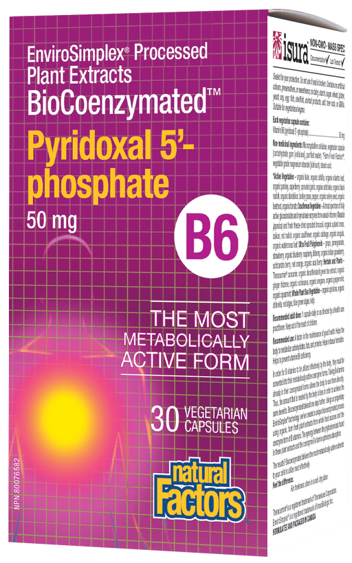 Natural Factors Pryidoxal 5 Vitamin B6 | YourGoodHealth
