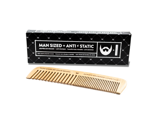 Always Beared Maple Beard Comb | Your Good Health
