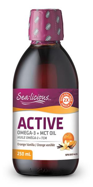 Sealicious Active Omega-3 +MCT Oil | YourGoodHealth