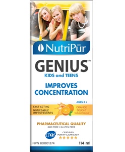 Nutripur Genius Kids & Teens 114ml | YourGoodHealth