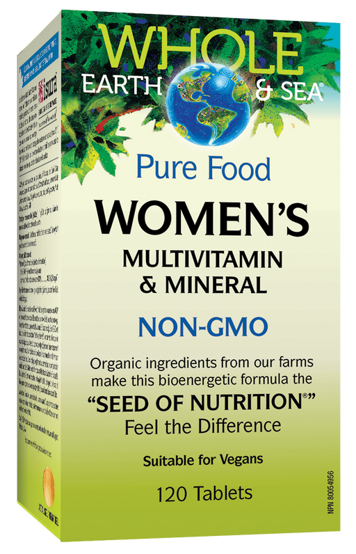 Whole Earth & Sea Women's Multivitamin 120 tablets | YourGoodHealth