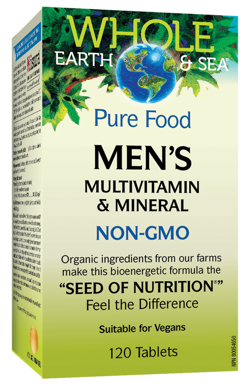 Whole Earth & Sea Mens Multi Vitamin 120tabs | YourGoodHealth