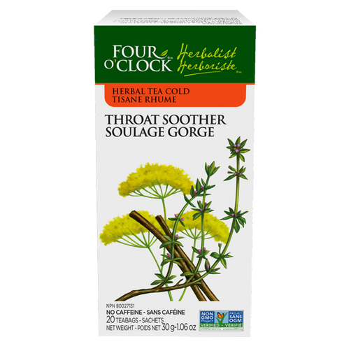 4 O'Clock Throat Soother Tea | Your Good Health