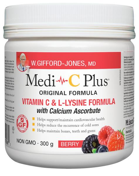 Medi C Plus with Calcium Berry 300gram | YourGoodHealth