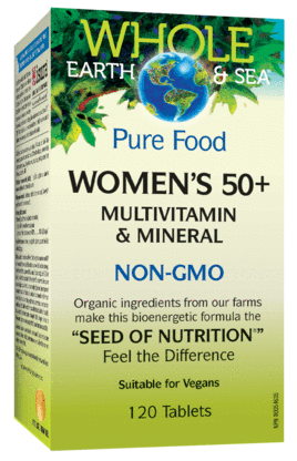 Whole Earth & Sea Women's 50+ Multivitamin 120 tablets | YourGoodHealth