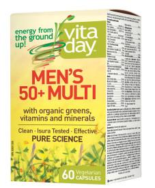VitaDay Mens 50+Multivitamin | YourGoodHealth