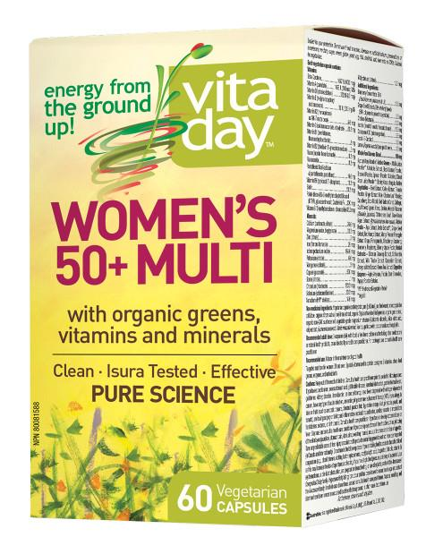 VitaDay Womens 50+ Multivitamin | YourGoodHealth