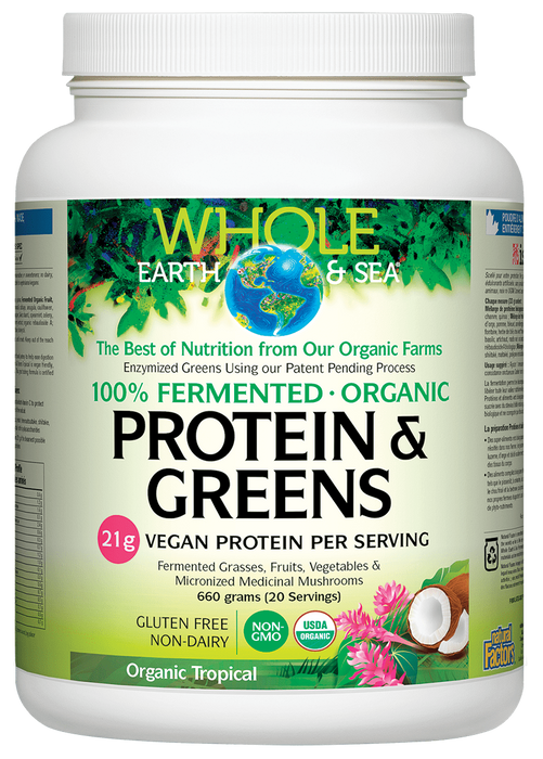 Whole Earth & Sea Protein & Greens Tropical | YourGoodHealth