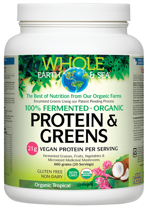 Whole Earth And Sea Protein & Greens | Your Good Health