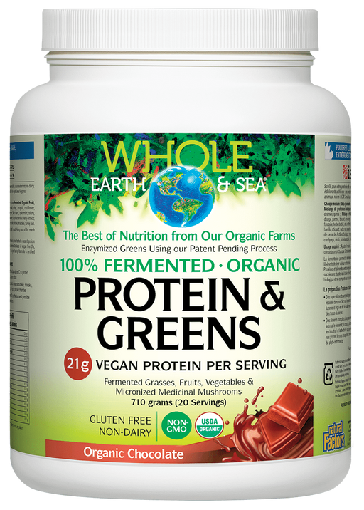 Whole Earth And Sea Protein & Greens Chocolate | YourGoodHealth
