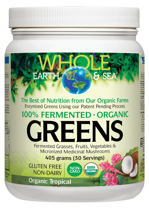 Whole Earth & Sea Greens Tropical | Your Good Health