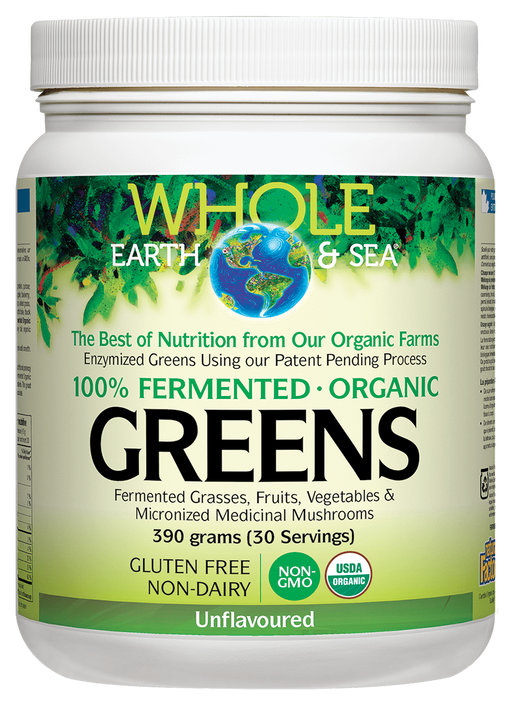 Whole Earth & Sea Greens Unflavoured | Your Good Health