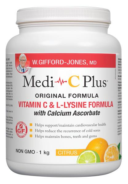 Medi C Plus with Calcium Citrus 1kg | YourGoodHealth