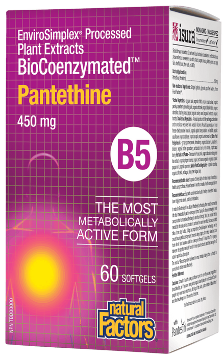 Natural Factors Pantethine B5 | Your Good Health
