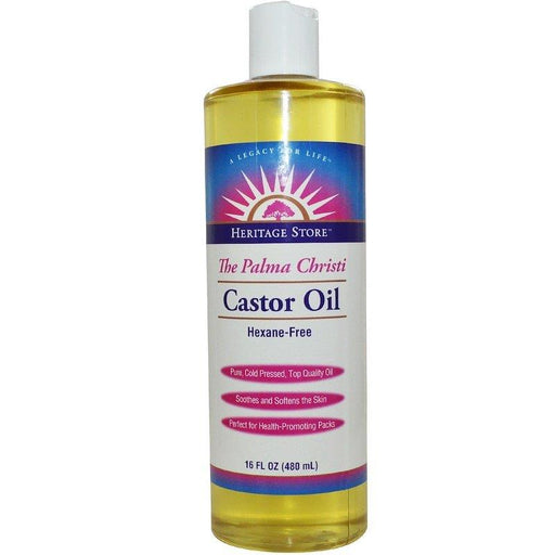 Heritage Castor Oil 16oz | YourGoodHealth